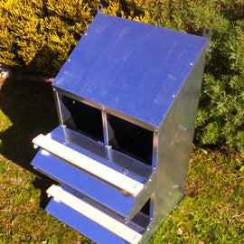 SKA 4-Hole Roll Away Nest (for up to 20 hens)