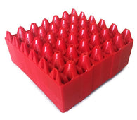 "20 x Red Stackable Plastic ""30 Egg"" Trays (free postage)"