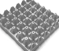 "20 x Grey Stackable Plastic ""30 Egg"" Trays (free postage)"