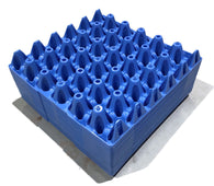 "Egg Trays - 20 x Blue ""30 Jumbo Egg"" Trays"