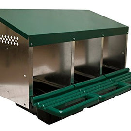 3-Hole Roll Away Steel Nest Box