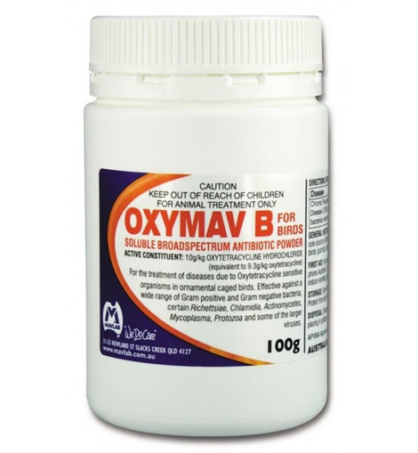 Oxymav B Antibiotic 100g
