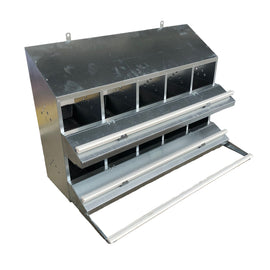 Large SKA Roll Away Nest Box (10-Hole)