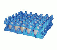 5 x Stackable 30 Egg Plastic Trays