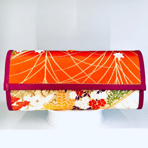 Kimono Luxe Clutch Bag 'Colour Pop Botanical'
