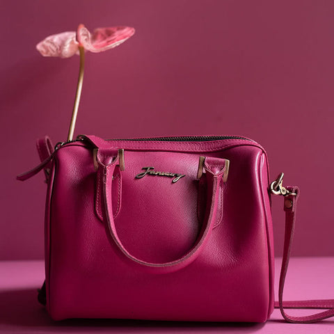 The Doctor Bag Saffiano hot pink