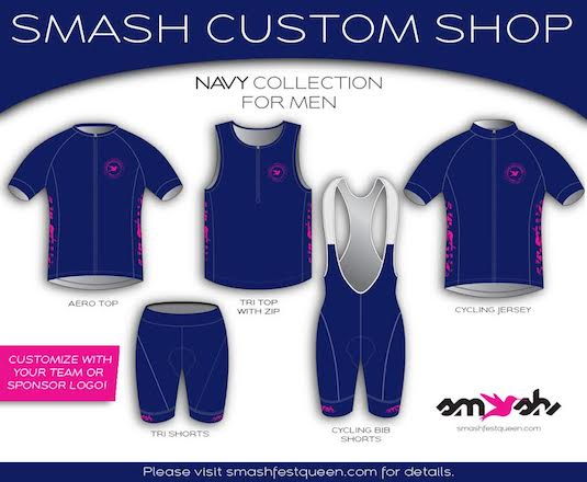 Men's Navy Custom Collection