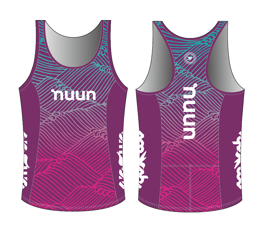 Nuun Hydration Women's Tri Top with Built-in Bra Pre-order