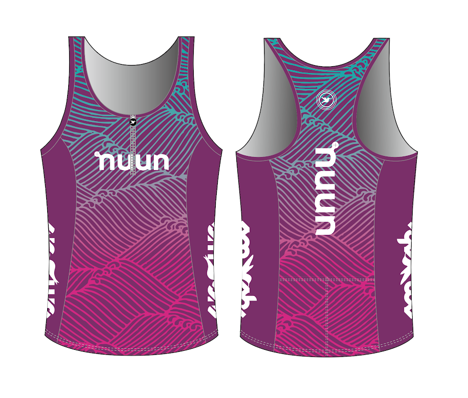 Nuun Hydration Women's Tri Top with Zip Pre-order