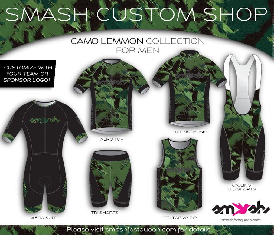 Men's Camo Lemmon Custom Three-Piece Aerosuit Collection