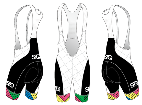 2019 Team SFQ Cycling Aero Bibs