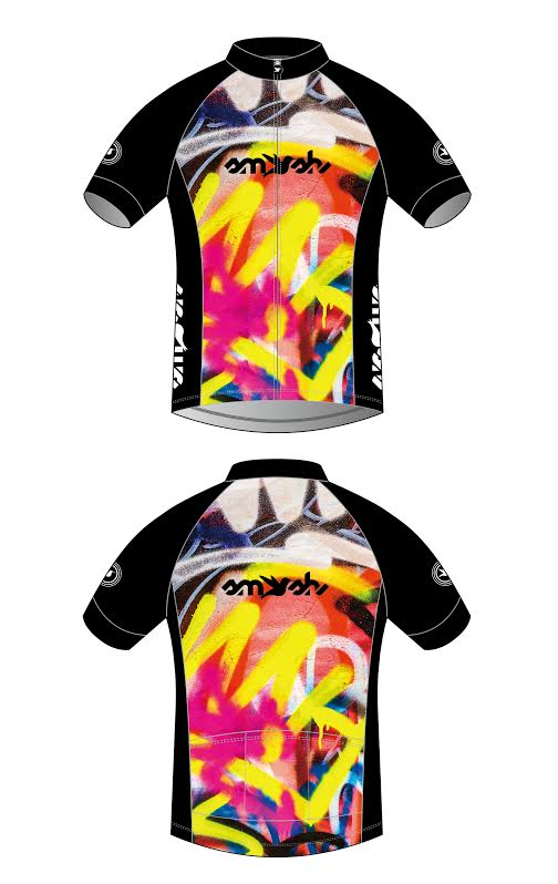 Graffiti Women's Cycling Jersey