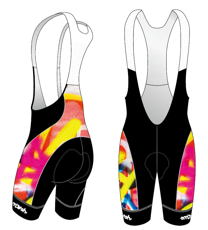 Graffiti Women's Aero Cycling Bibs