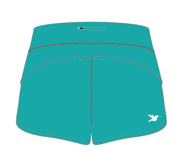 Nuun Hydration Women's Teal Run Short Pre-Order