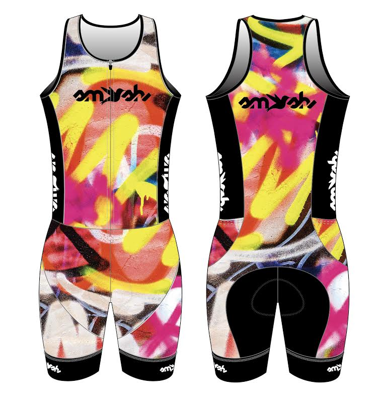 Graffiti Women's One-Piece Trisuit
