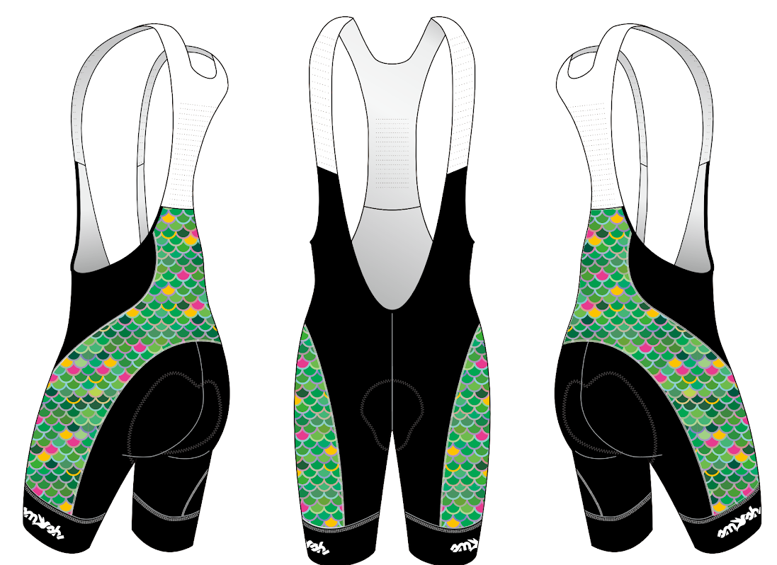 Mermaid Squad Cycling Women's Aero Bibs Pre-order