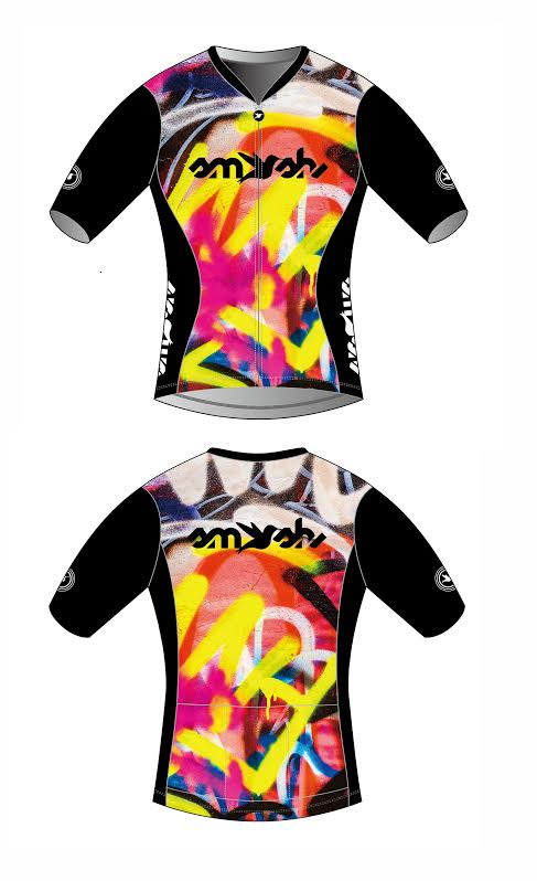 Graffiti Women's Short Sleeve Aero Top