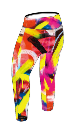 Graffiti Women's High-Rise Capri Pre-Order