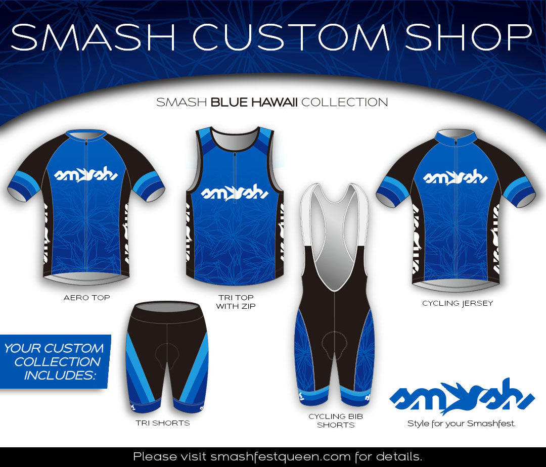 Blue Hawaii Custom Three-Piece Aerosuit Collection