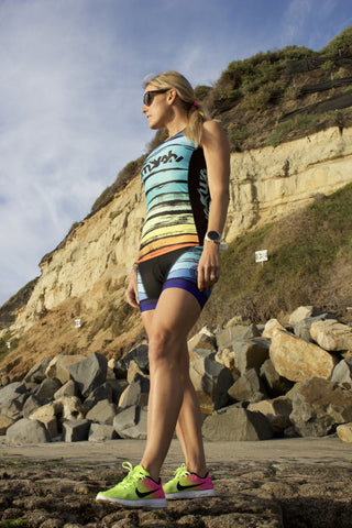 Skyline Tri top with Built-in Bra