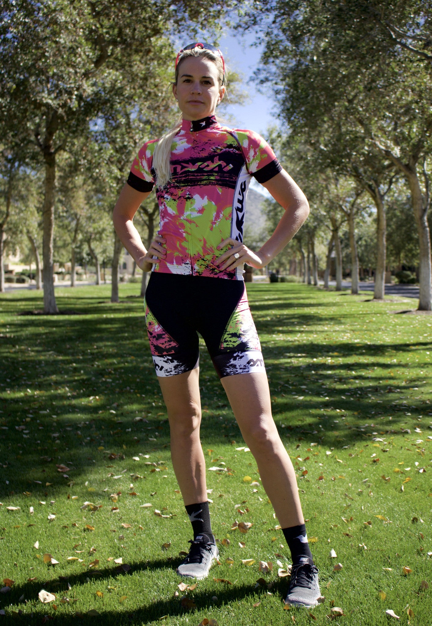 Lemmon Lime Cycling Shorts *FINAL SALE*