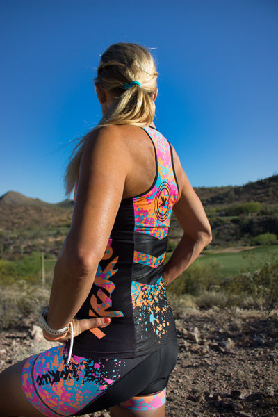 RFA Tri top with Built-in Bra