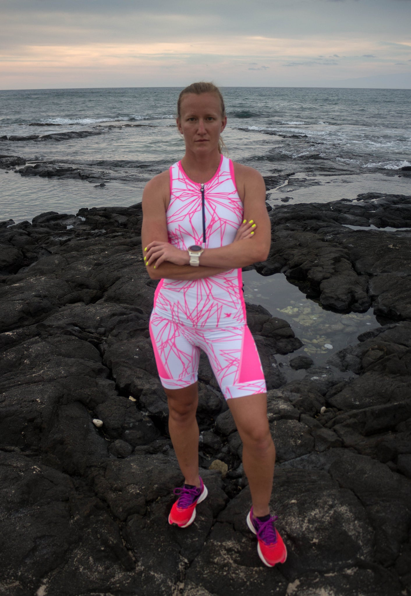 Hawi Women's Tri Top with Zip *FINAL SALE*