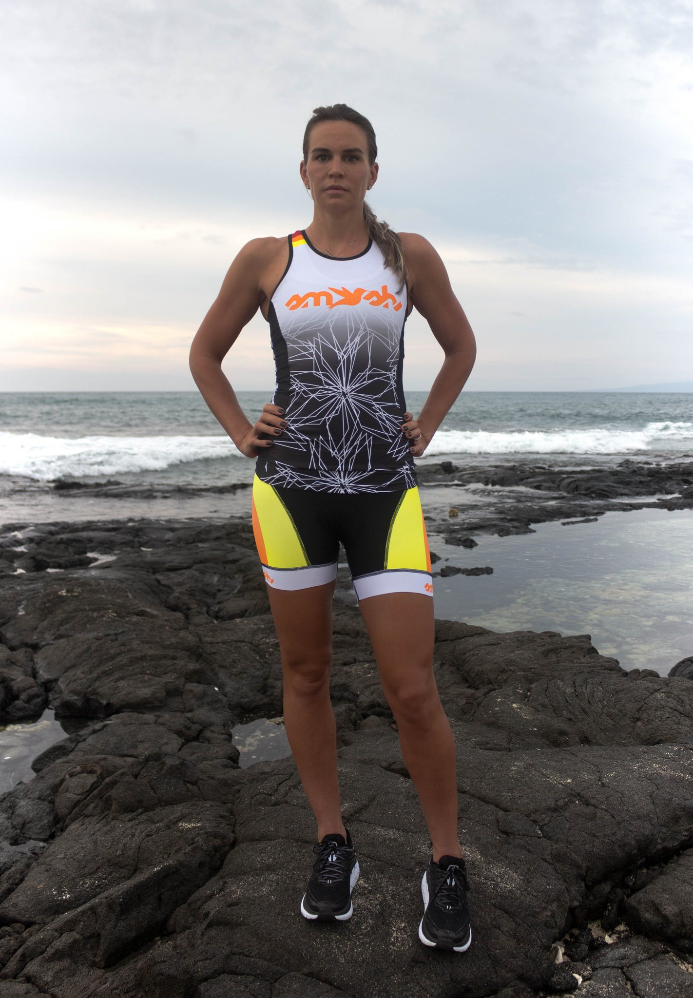 Dig Me Women's Tri Top with Built-in Bra