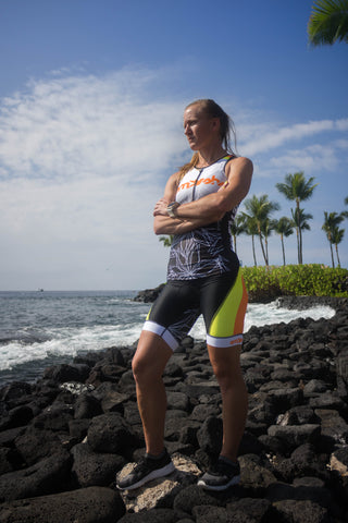 Dig Me Women's Tri Top with Zip *FINAL SALE*