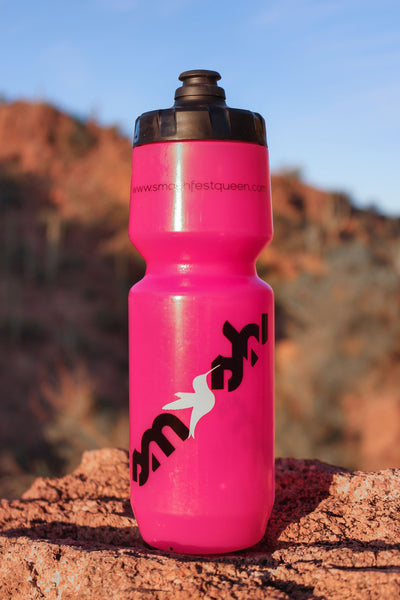 Pink SMASH waterbottle by Purist