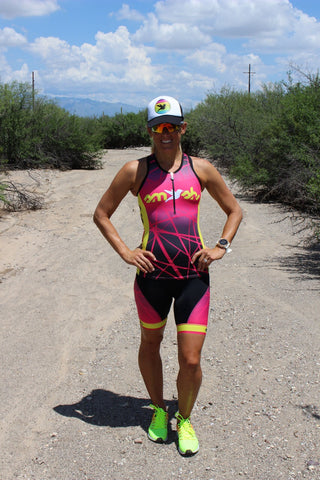 Women's ATTACK Tri Top with Zip *FINAL SALE*