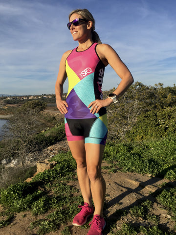 TeamSFQ Tri top with Built-in Bra