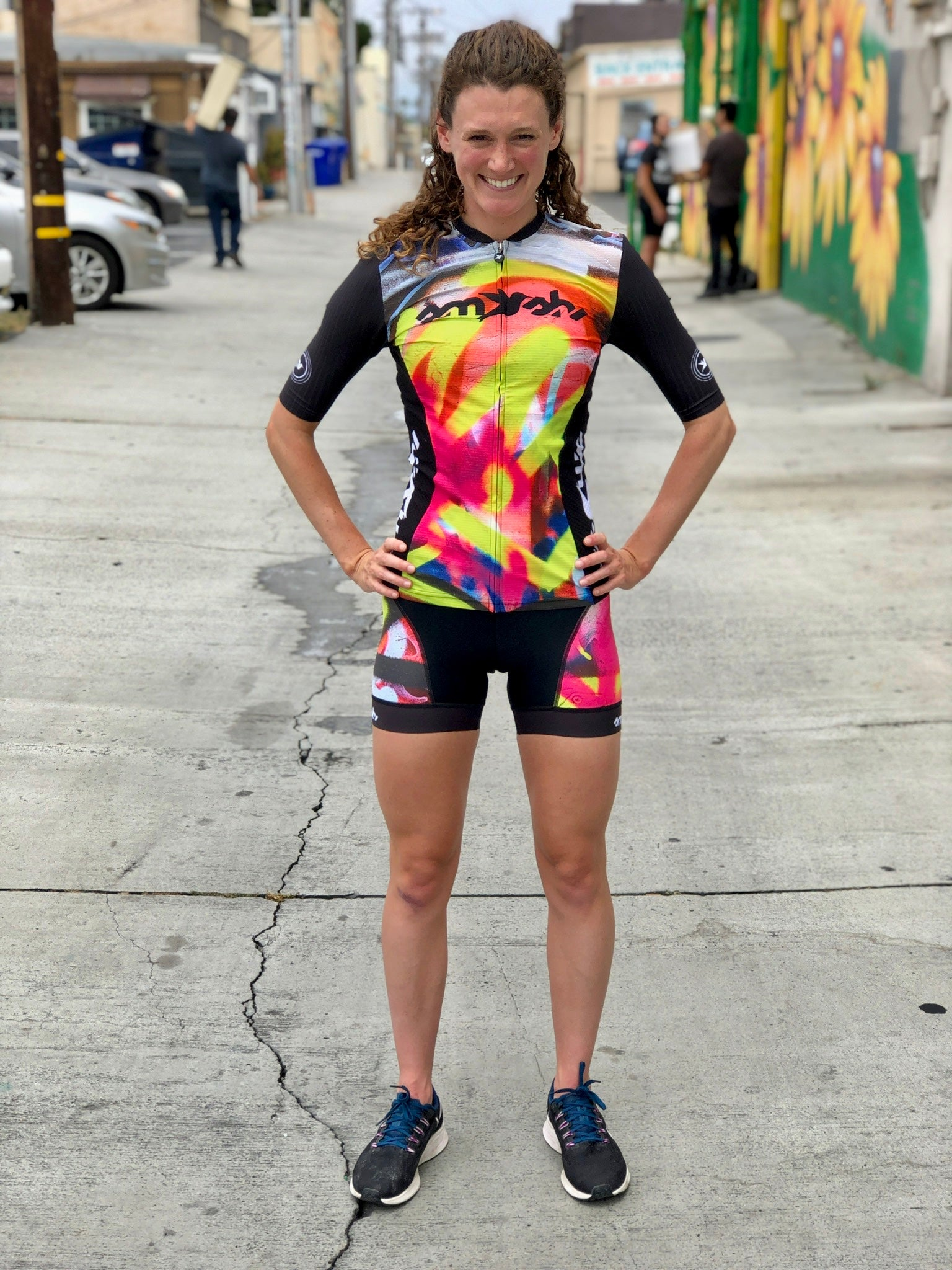 "Graffiti Women's 5"" Tri Short"