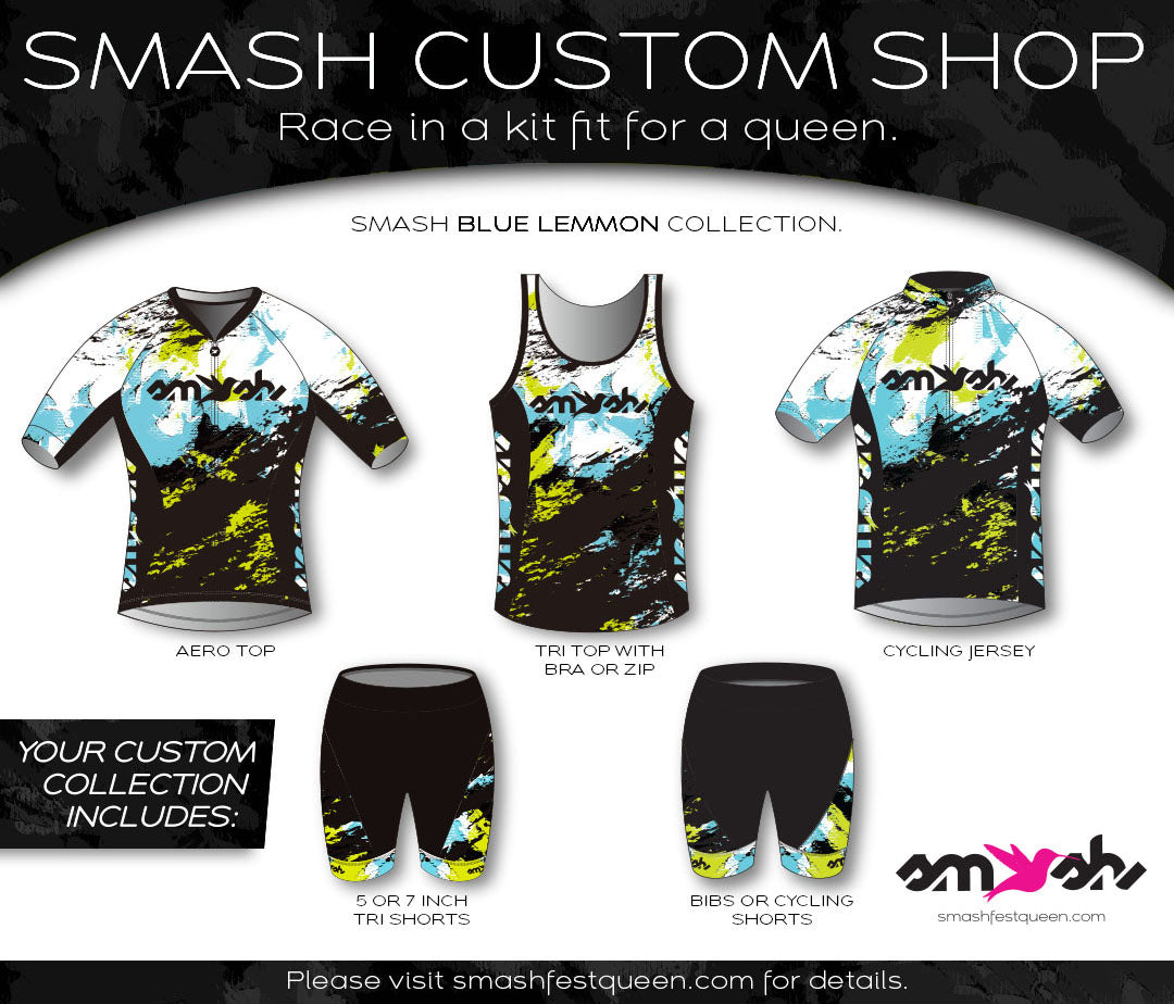 Blue Lemmon Custom Five-Piece Aero Collection