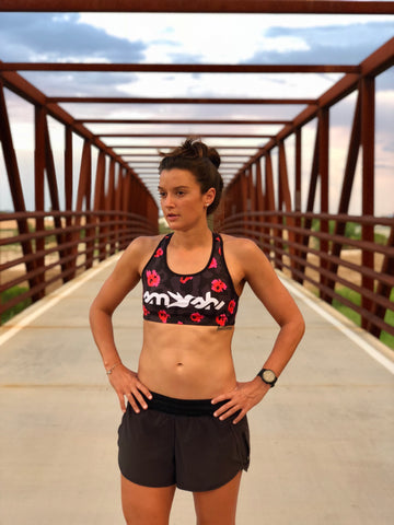 Wild & Free Racerback Sports Bra * FINAL SALE *