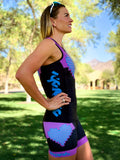 Heart Collection Tri Top with Built-in Bra