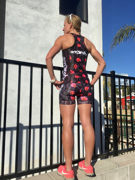 Wild & Free Women's Tri Top with Built-in Bra