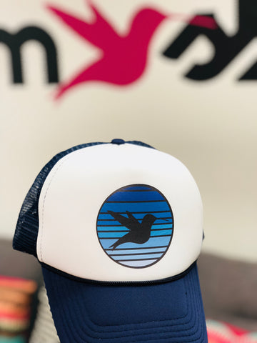 Blue Hawaii Trucker