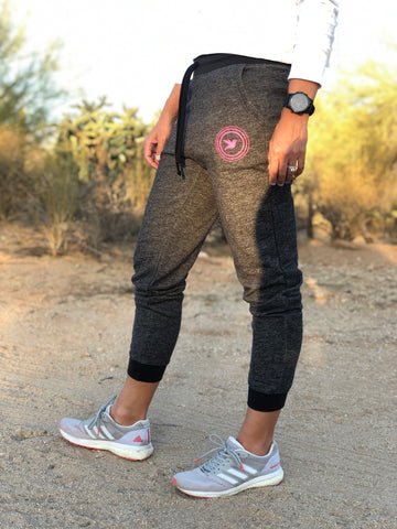 Black Denim Smash Joggers *FINAL SALE*