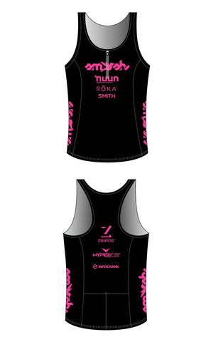 2021 Club SFQ Women's Tri Top with Zip