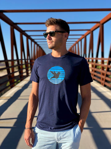 Men's Blue Hawaii Tee