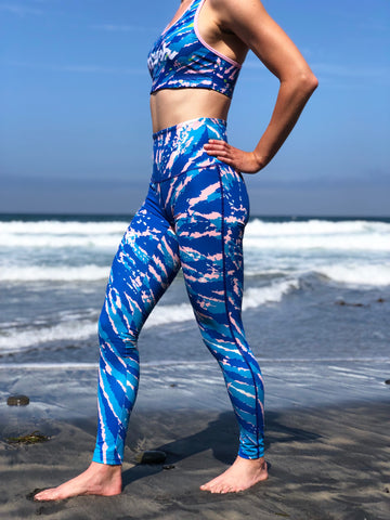 Tie-Dye High-Rise Leggings