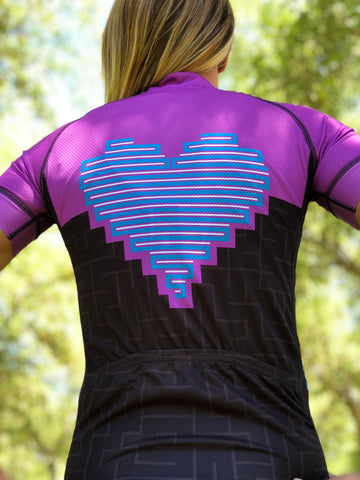 Heart Collection Cycling Jersey *FINAL SALE*