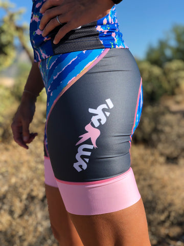 Tie-Dye Women's Cycling Shorts