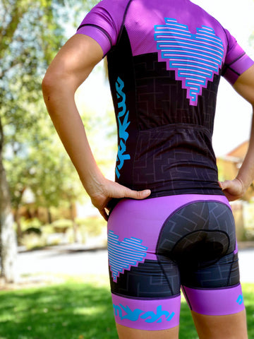 Heart Collection Cycling Aero Bibs *FINAL SALE*