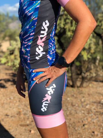Tie-Dye Cycling Women's Aero Bibs
