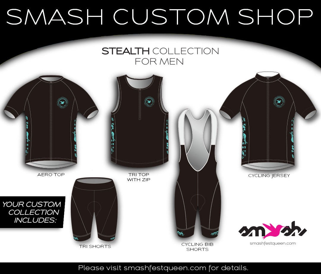 Stealth Custom Four-Piece Aero Collection