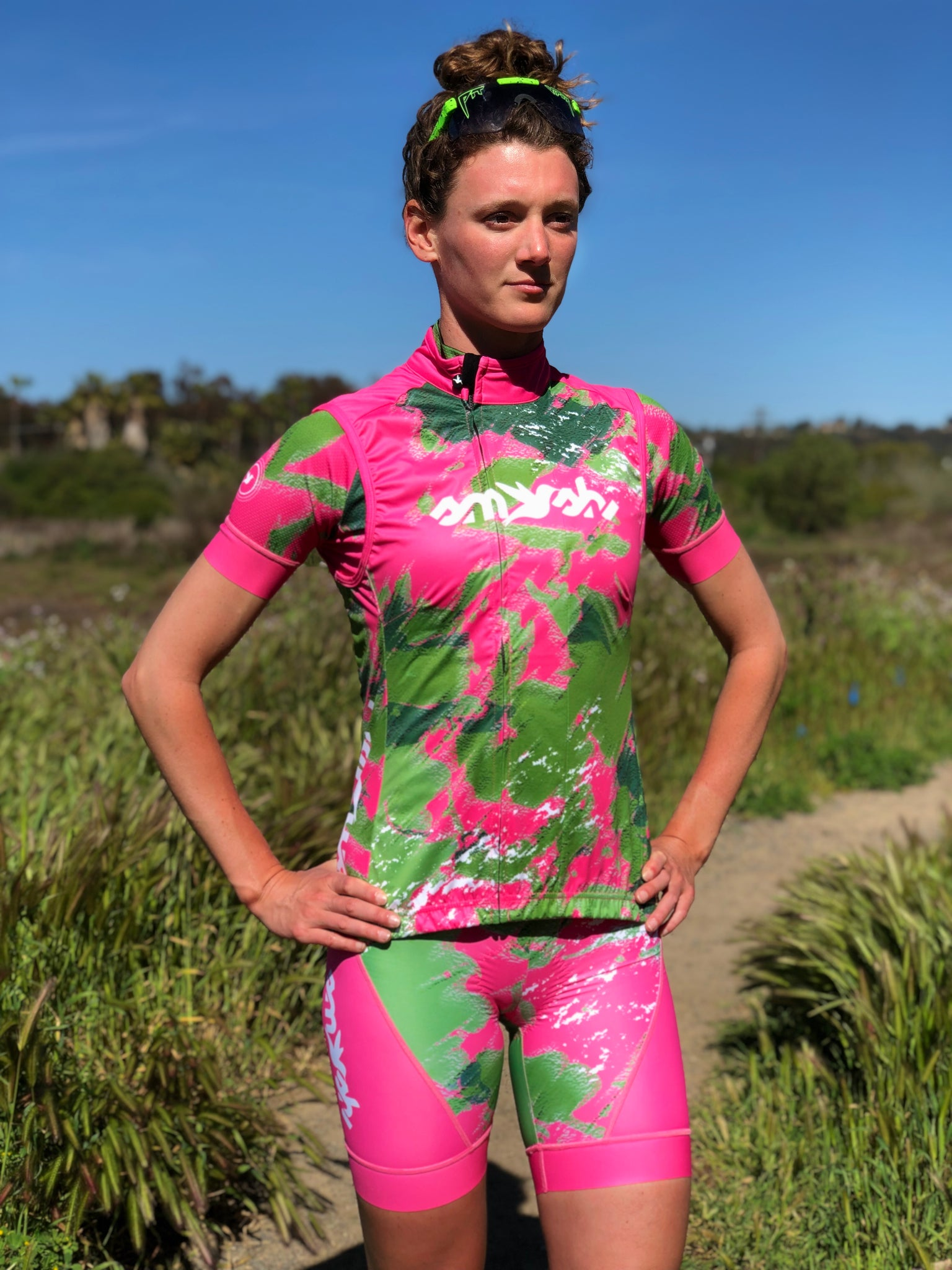 Camo Lemmon Cycling Women's Aero Bibs *FINAL SALE*