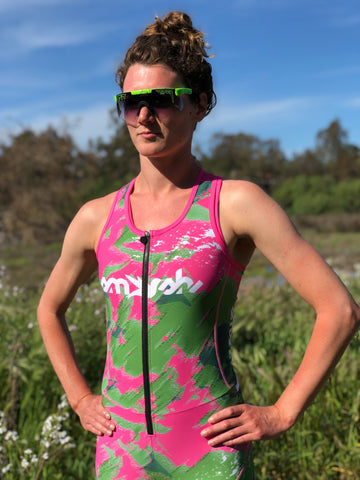Camo Lemmon Women's One-Piece Trisuit *FINAL SALE*