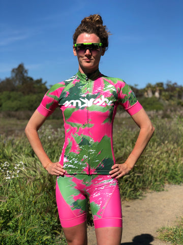 Camo Lemmon Women's Cycling Jersey *FINAL SALE*